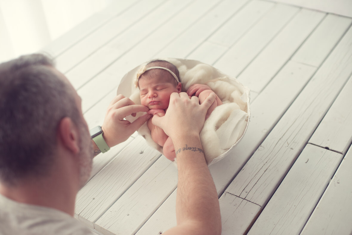 Mirame fotografia fotografo newborn en barcelona