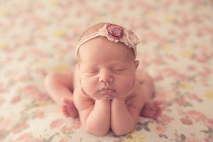 La sesión newborn de Mía